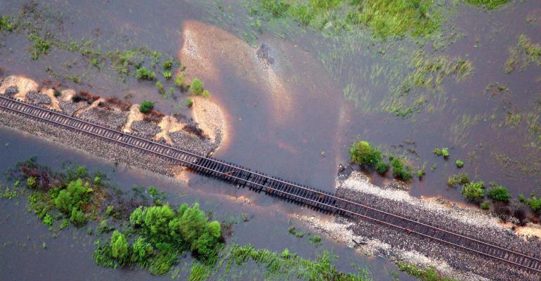 rail harvey damage