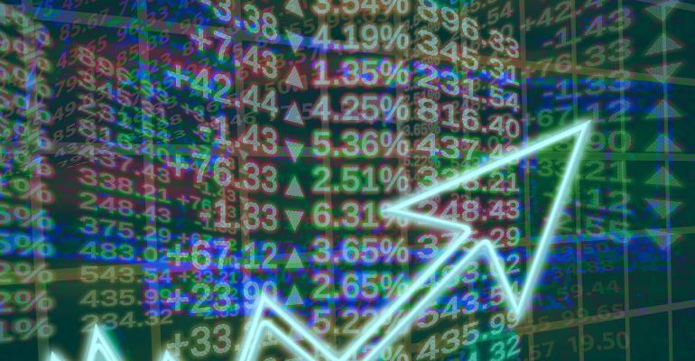 stock exchange markets chart