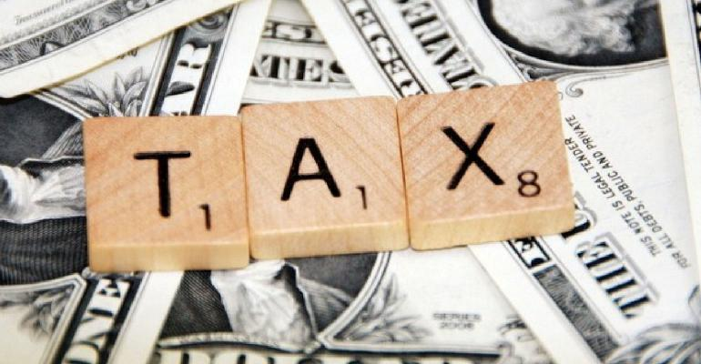 Tax scrabble blocks