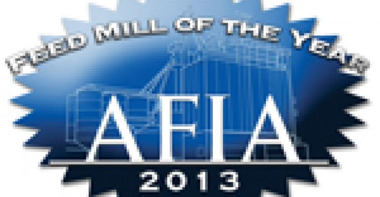 2013 Feed Mill of the Year Survey