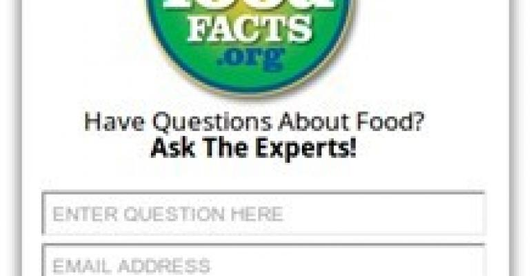 New widget available to answer consumers' food questions