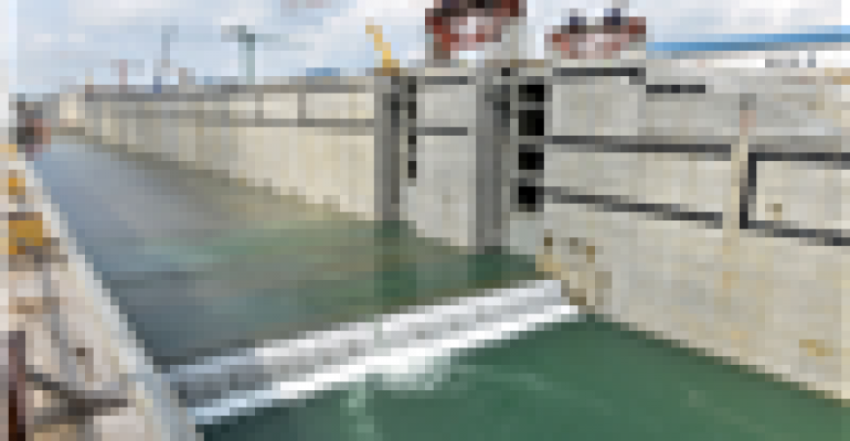 Panama Canal lock expansion opening delayed