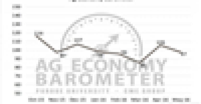 Producer sentiment falls in latest Ag Economy Barometer