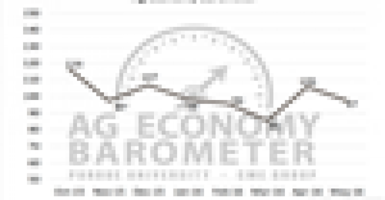 Producer sentiment falls in latest Ag Economy Barometer