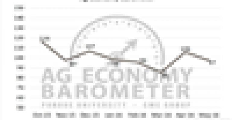Ag Economy Barometer moves higher