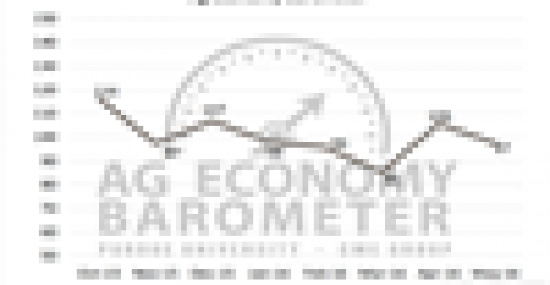 Ag Economy Barometer moves higher