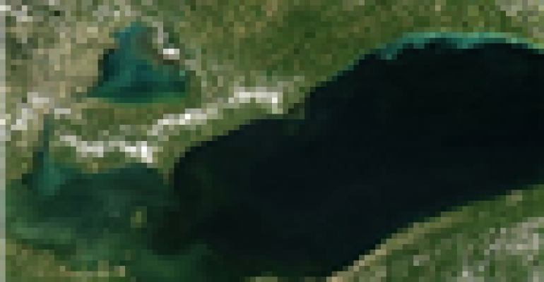 Smaller algal bloom predicted for western Lake Erie