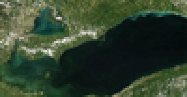Smaller algal bloom predicted for western Lake Erie