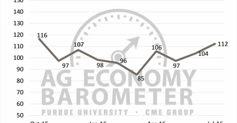 Ag barometer: Long-term outlook strengthens