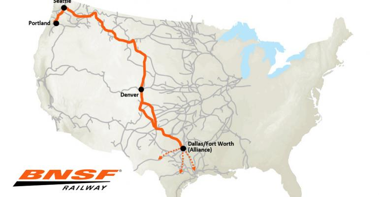 BNSF launches Pacific Northwest to Texas intermodal service