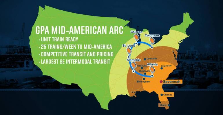 Savannah port expanding reach through rail initiative