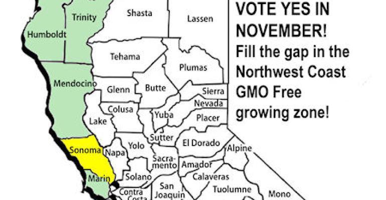 Sonoma County bans GMO crop planting
