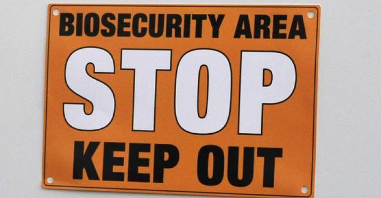 biosecurity pig hog farmers