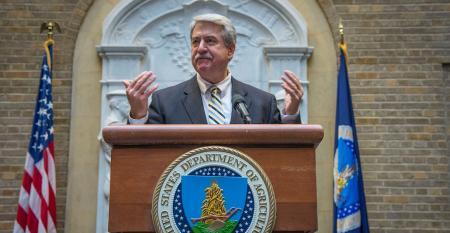 USDA trade undersecretary Ted McKinney