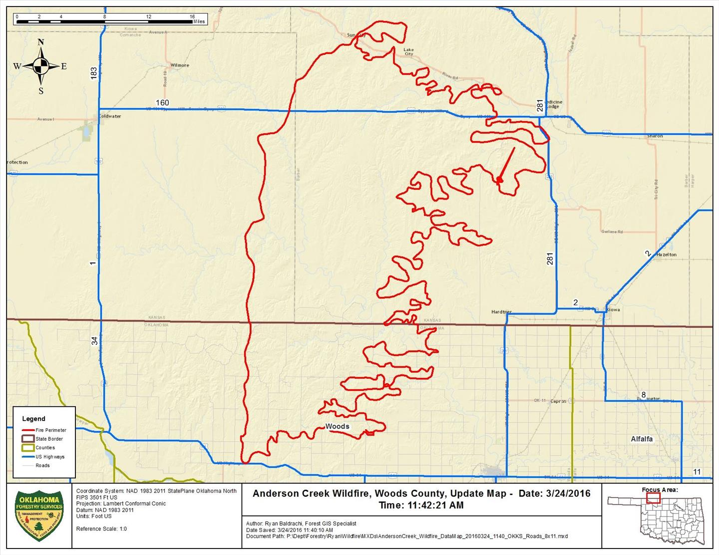 UPDATE: Cattle losses reported in Oklahoma, Kansas wildfires ...